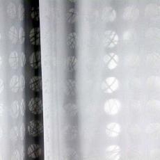 'Polar', gordijnstof - Beppe Kessler, International Kendix Textiles (Waalre), Textielmuseum (registratiefoto)