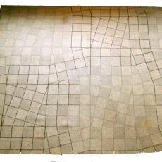 Tapijt voor provinciehuis Gelderland 'KVT 54 -436' - Textielmuseum (registratiefoto), Textielmuseum (Joep Vogels), Herman Scholten, Textielmuseum (registratiefoto), Textielmuseum (registratiefoto), Koninklijke Vereenigde Tapijtfabrieken (Deventer), Textielmuseum (registratiefoto)