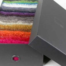'Extase', doos met 19 stalen - Portugal) T.F.S. (Espinho, Textielmuseum (registratiefoto), België) Casalis Carpets (Wielsbeke, Liset van der Scheer