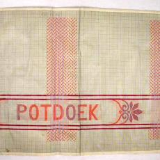 Patroontekening 'POTDOEK' - Textielmuseum (registratiefoto), W.J. van Hoogerwou & Zn. (Boxtel)