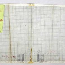 Patroontekening voor wafeldoek - W.J. van Hoogerwou & Zn. (Boxtel), Textielmuseum (registratiefoto)