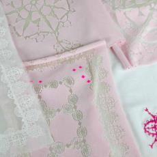 Proefstalen voor tafelkleed - Textielmuseum (registratiefoto), Nederlands Textielmuseum, Uli Rapp