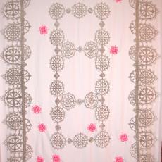 Tafelkleed - Uli Rapp, Nederlands Textielmuseum, Textielmuseum (registratiefoto), Textielmuseum (registratiefoto)