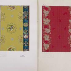 'Uitgevoerde ontwerpen serie 3000' - Stoomweverijen Besouw (Goirle), Jos Linnenbank, Textielmuseum (registratiefoto)