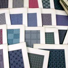 'Ontwerpen tapijten modern all-over 2 chorig' - Textielmuseum (registratiefoto), Textielmuseum (registratiefoto), Stoomweverijen Besouw (Goirle)