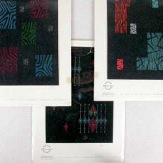 'Ontwerpen tapijten modern all-over 2 chorig' - Textielmuseum (registratiefoto), Stoomweverijen Besouw (Goirle), Solway Studios Billy Tex (Lowden)