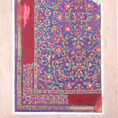 'Ontwerpen lopers klassiek Axminster' - Textielmuseum (registratiefoto), Stoomweverijen Besouw (Goirle), Piet Panhuizen