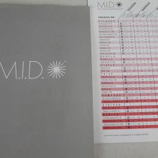 Stalenboek Moquette Industrie Deventer (MID) - Textielmuseum (registratiefoto), Ulf Moritz, Moquette Industrie Deventer (MID), Textielmuseum (registratiefoto)