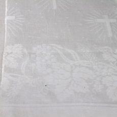 Staal van altaarkleed - Textielmuseum (registratiefoto), Linnenfabriek Wed. J. van Nuenen & Zoon (Zeelst / Meerveldhoven)