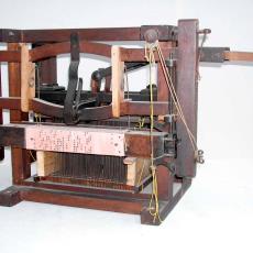Jacquardmachine - Textielmuseum (registratiefoto), Textielmuseum (registratiefoto), Textielmuseum (registratiefoto), Textielmuseum (registratiefoto)