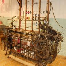 Häkelgalonmachine - Textielmuseum (registratiefoto), onbekend, Textielmuseum (registratiefoto), Textielmuseum (registratiefoto), Textielmuseum (registratiefoto)