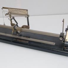 Twistmeter - Marcel Defraine (Brussel), Textielmuseum (registratiefoto), Textielmuseum (registratiefoto), Textielmuseum (registratiefoto), Lange, Tommy de