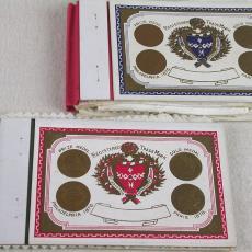 Stalenboekje met stalen voor zakdoeken - Textielmuseum (registratiefoto), Linnen- en damastweverij A. Louwers (Meerveldhoven), Textielmuseum (registratiefoto)