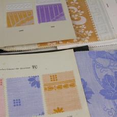 Stalenboek tafelgoed - Linnen- en damastweverij A. Louwers (Meerveldhoven), Merlin Tischzeug, Textielmuseum (registratiefoto), Textielmuseum (registratiefoto)