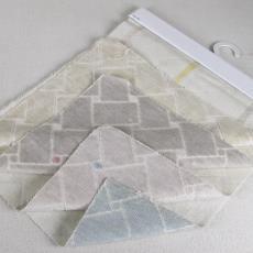Stalenbundel gordijnstof 'Bromo' - Yvonne van Uden, International Kendix Textiles (Waalre), Textielmuseum (registratiefoto)