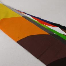 Stalenbundel gordijnstof 'Saturno' - International Kendix Textiles (Waalre), Textielmuseum (registratiefoto), Yvonne van Uden, Textielmuseum (registratiefoto)