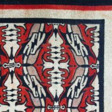 Divankleed 'Amsterdamse School' - Textielmuseum (registratiefoto), Sikko van der Woude (toegeschreven), Eindhovensche Trijpfabrieken Schellens & Marto, Textielmuseum (registratiefoto)