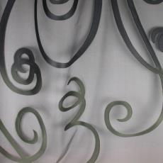 Gordijnstof 'Nightingale' (2027-01) - Ulf Moritz, Textielmuseum (registratiefoto), Sahco Hesslein, Textielmuseum (registratiefoto), Textielmuseum (registratiefoto)