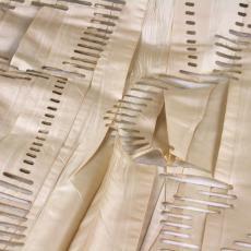 'Orchidee II', (uit 'New York collectie') - ID Laser B.V., Audax Textielmuseum Tilburg, Eugène van Veldhoven, Textielmuseum (registratiefoto), Textielmuseum (registratiefoto)