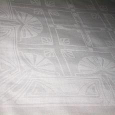 Tafellaken 'Damast ruit dessin' (dessinnr. 300) - Linnenfabriek Wed. J. van Nuenen & Zoon (Zeelst / Meerveldhoven), Albert Maurice Lejeune, Textielmuseum (registratiefoto)