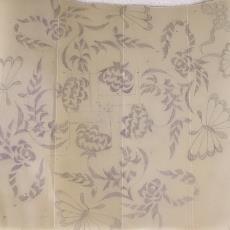 Ontwerp voor sierkleedje (K 2) - Textielmuseum (registratiefoto), Handweverij en Ontwerpatelier K. v.d. Mijll Dekker (Nunspeet), Kitty van der Mijll Dekker (Fischer-)