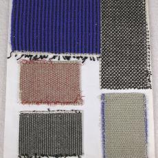 Weefstaal voor meubelstof - Kitty van der Mijll Dekker (Fischer-), Textielmuseum (registratiefoto), Handweverij en Ontwerpatelier K. v.d. Mijll Dekker (Nunspeet), Textielmuseum (registratiefoto)