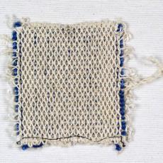 Staaltje meubelstof - Handweverij en Ontwerpatelier K. v.d. Mijll Dekker (Nunspeet), Textielmuseum (registratiefoto), Kitty van der Mijll Dekker (Fischer-)