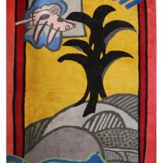 'La Moisson' (no. 29/100), vloerkleed - Textielmuseum (registratiefoto), Corneille, Textielmuseum (registratiefoto)