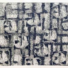 Stofontwerp met abstract motief - J. Elias Textielfabrieken (Eindhoven), Textielmuseum (registratiefoto), Textielmuseum (registratiefoto), Anton Vollebergh