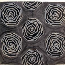 Ontwerp voor gordijnstof - J. Elias Textielfabrieken (Eindhoven), Textielmuseum (registratiefoto)