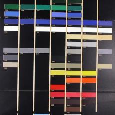 Stalenkaart 'van besouw fabrics' - Benno Premsela, Textielmuseum (registratiefoto), Van Besouw Fabrics (Goirle)