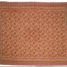Omslagdoek met bloemenpatroon - Textielmuseum (registratiefoto), Johan Jacobs, P.F. van Vlissingen & Co. (Helmond)