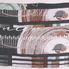 Proefstaal voor 'Domestic Jewels - chaise longue' - Textielmuseum (registratiefoto), Textielmuseum (registratiefoto), Kiki van Eijk, Audax Textielmuseum Tilburg