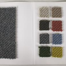 Stalenboek tapijt '4401', eerste kleurreeks - Premsela Vonk (Amsterdam), Textielmuseum (registratiefoto), Storck van Besouw (Goirle), Diek Zweegman
