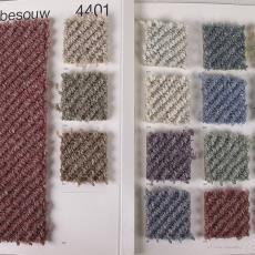 Stalenboek tapijt '4401', tweede kleurreeks - Diek Zweegman, Van Besouw (Goirle), Textielmuseum (registratiefoto), Premsela Vonk (Amsterdam)