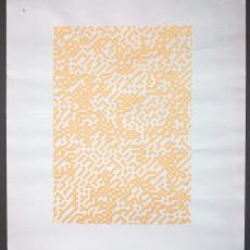 Voorstel en eerste schetsen voor een vinylwand - Marijke Griffioen, Textielmuseum (registratiefoto), BRS Premsela Vonk, Diek Zweegman, Textielmuseum (registratiefoto), Vescom (Deurne), Textielmuseum (registratiefoto)