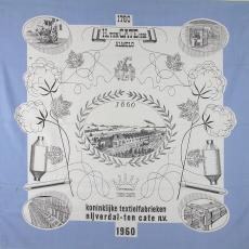Gedenkdoek 'H. ten Cate Hzn Almelo' 1760-1960 - Textielmuseum (registratiefoto), Koninklijke Textielfabrieken Nijverdal-ten Cate (Almelo)