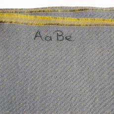 Stof voor stoelbekleding voor Lufthansa - Textielmuseum (registratiefoto), Lufthansa, AaBe Textiles (Tilburg)