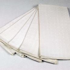 Handdoek 'Blokken met verschillende bindingen' (dessinnr.1602) - Kitty van der Mijll Dekker (Fischer-), Textielmuseum (registratiefoto), Linnenfabrieken E.J.F. van Dissel & Zonen (Eindhoven)