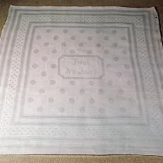 Servet 'Grieksche rand' voor Hôtel des Indes - Textielmuseum (registratiefoto), Koninklijke Weverij Van Dijk (Eindhoven)