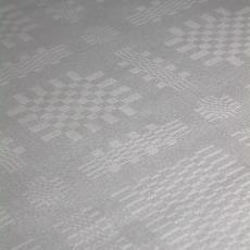 Tafellaken, pellenweefsel - onbekend, Textielmuseum (registratiefoto)