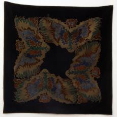 Tafelkleed met abstract-geometrische motieven in art-decostijl - onbekend