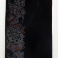 Schoorsteenkleed met abstract-geometrische motieven in art-decostijl - onbekend