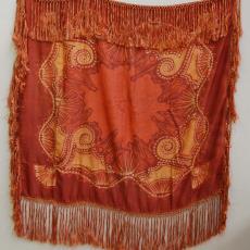 Vleugelkleed in art-decostijl - Textielmuseum (registratiefoto), Louis Bogtman (toegeschreven)