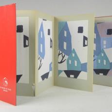 Stalenboek met gordijnstof 'Casé' - Weverij De Ploeg (Bergeijk), Palthe's Textielveredelingsbedrijven (Almelo), Textielmuseum (registratiefoto)