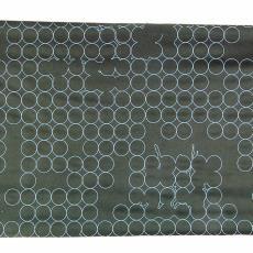 'Layers Vineyard Large' (kleurnr.0003), staal - Hella Jongerius, Maharam, Kvadrat, Textielmuseum (registratiefoto)