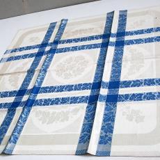 Damasten tafellaken met klimopmotief - Textielmuseum (registratiefoto), Nico ter Kuile, onbekend