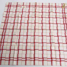 Droogdoek (Nicolientje) in min of meer klassieke pellenpatronen - Textielmuseum (registratiefoto), Textielmuseum (registratiefoto), Erica de Ruiter, Nico ter Kuile, Textielmuseum (registratiefoto), Textielmuseum (registratiefoto)
