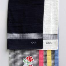 Stalenbundel 'Cheeky Rose' uit de collectie Caro Carat - Annet Haak, Textielmuseum (registratiefoto), Liset van der Scheer, Sand Studio (Amsterdam), Ten Cate Interior B.V (Almelo)