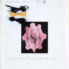 Werktekeningen en garenmonsters voor 'Animal Skin' (2) - Audax Textielmuseum Tilburg, Maarten Baas